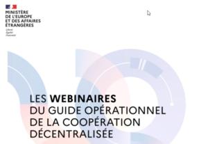 Webinaire DAECT - Coopérer avec le Sénégal pour le développement durable
