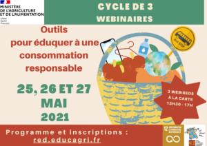 Outils pour éduquer à une consommation responsable – Cycle de 3 webinaires avec le RED @ Dunkerque