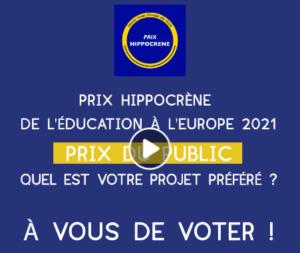 Votez pour votre projet Europe préféré ! @ Votez en ligne sur FaceBook